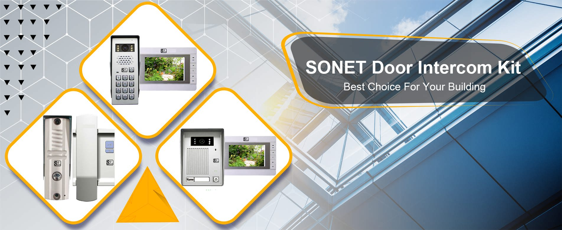 sonet door door intercom kit