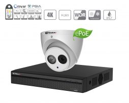 Prolux 8MP IP CCTV System - (16x) 8 Megapixel Starlight ePoe IP Camera - 16 Channel NVR