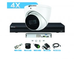 8MP CCTV System Trade HDCVI Starlight Bundle (KIT) for CCTV Installers - 4 Channel Prolux