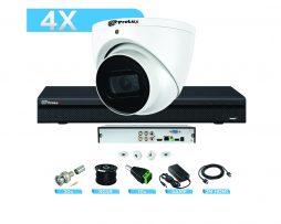 8MP CCTV System Trade HDCVI Starlight Bundle (KIT) for CCTV Installers - 4 Channel Prolux