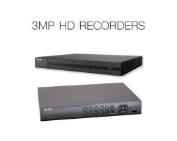 3MP HD RECORDERS