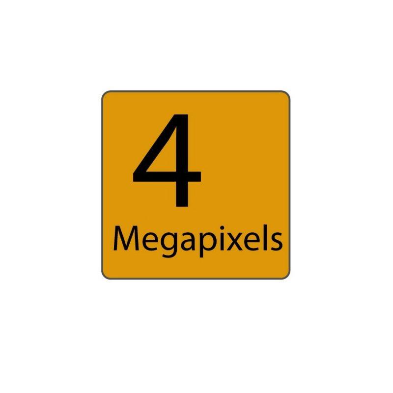 4 Megapixels