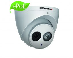 Prolux 4MP IP CCTV IP67 ePoE Technology Camera - 50M IR, Micro SD Memory