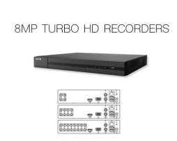 8MP TURBO HD RECORDERS