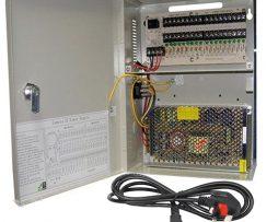 CCTV POWER SUPPLY 9 WAYS 10 AMP AC/DC 12V DC UNIT