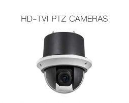 TURBO HD-TVI PTZ CAMERAS
