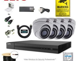 CCTV Security 5mp Dome Camera DVR System Bundle