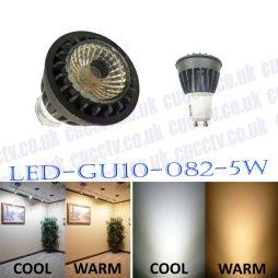 LED-GU10-082-5W