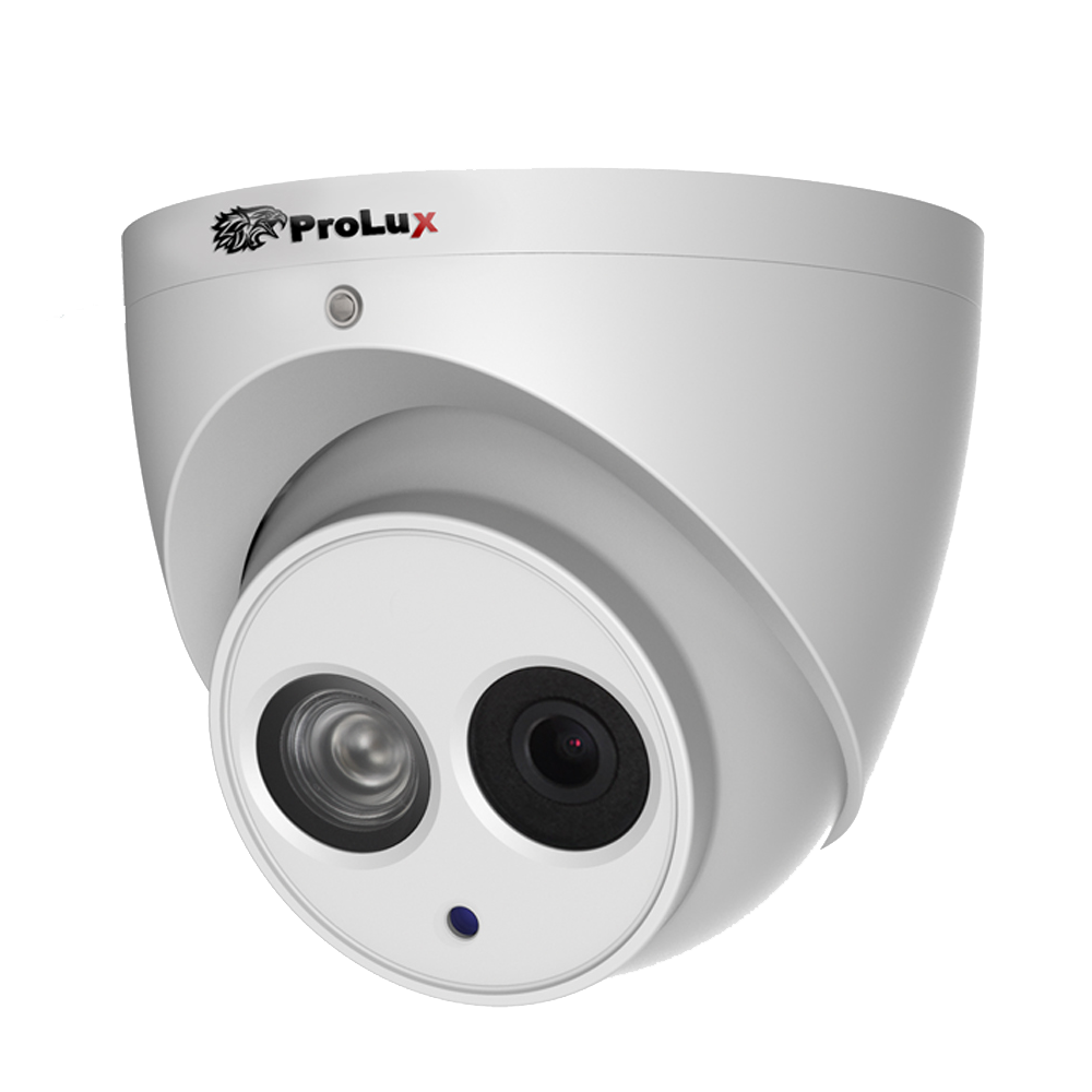 Prolux 2MP Starlight HDCVI POC IR Eyeball Camera - PXC-612C2W-A-POC
