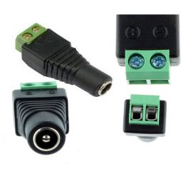 DC CABLE CAMERA ADAPTOR CONNECTOR