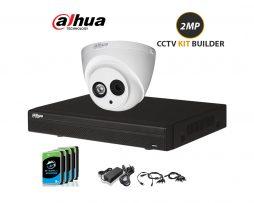 Dahua 2mp cctv camera system full kit builder