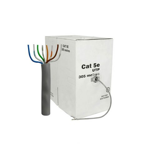 Solid Copper CAT5e , NETWORKING Ethernet LAN Cable 305m