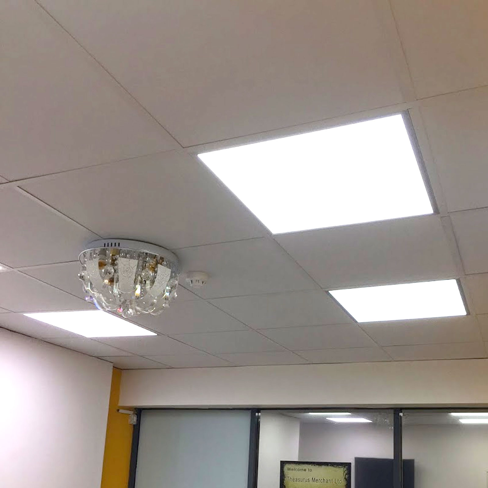 Recessed lights for ceiling tiles line art styrofoam ceiling tile r led ceiling panels cucctv dailygadgetfo Choice Image
