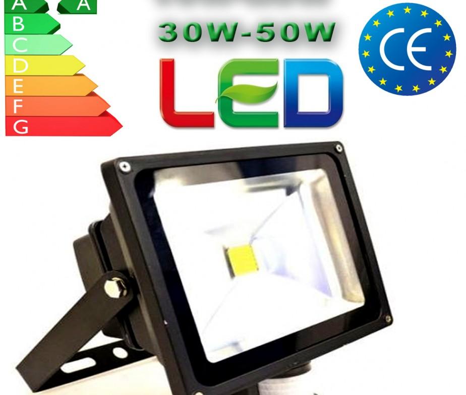 30 Watt IP65 PIR Sensor Motion LED Floodlight Security ...