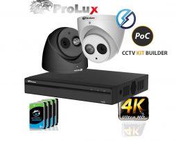 ProLuX 4K POC CCTV Camera KIT Builder