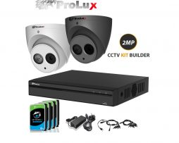 Prolux 2mp cctv kit builder