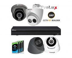 Prolux 5MP CCTV Camera KIT Builder